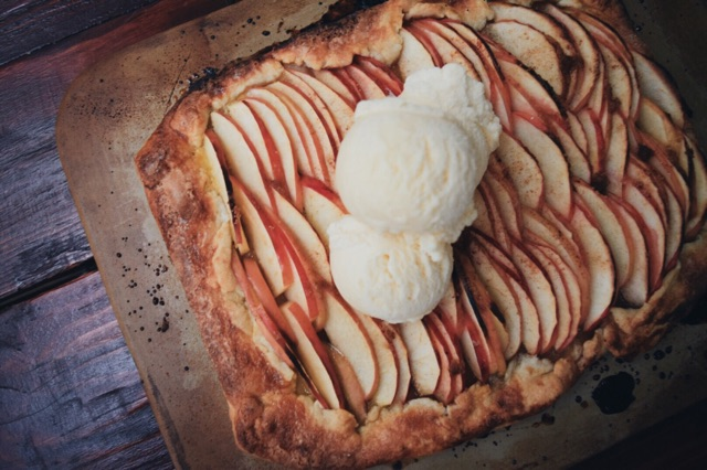 salted apple galette The Cozie
