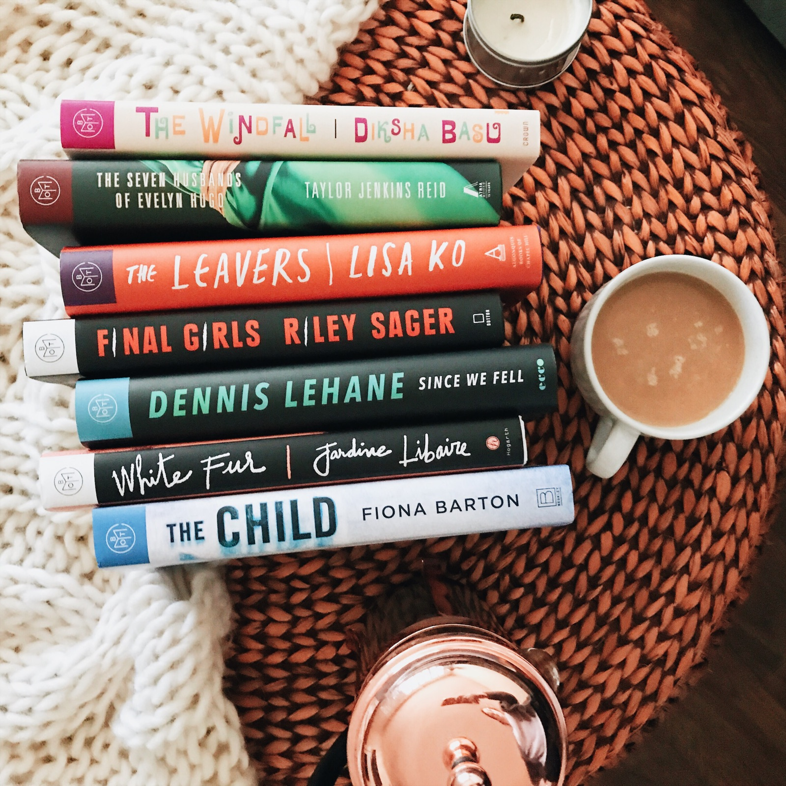 July 2017 TBR List The Cozie